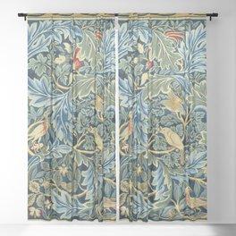 William Morris Birds And Acanthus Sheer Curtain