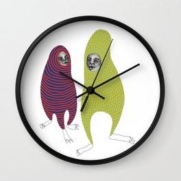 Just friends Wall Clock