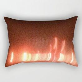 Abstracte Light Art in the Dark 15 Rectangular Pillow