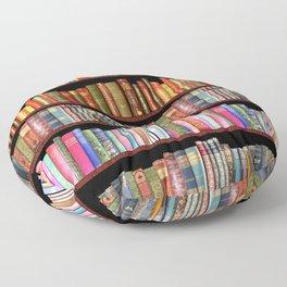 Vintage books ft Jane Austen & more Floor Pillow