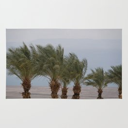 Palm Trees at The Dead Sea Rug