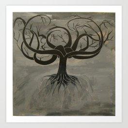 The Tree of Death Art Print