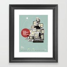The Apple Story Framed Art Print