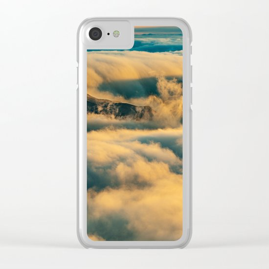 Haleakala Summit Clear iPhone Case