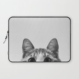Sneaking Cat Laptop Sleeve