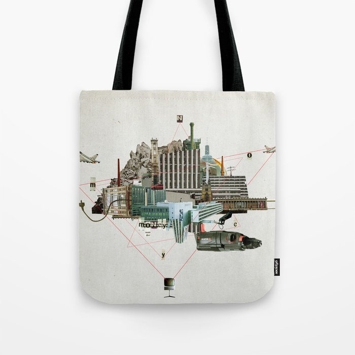 Collage City Mix 2 Tote Bag