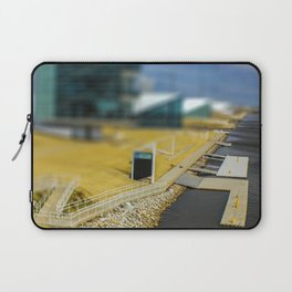 Boat Dock by Monique Ortman Laptop Sleeve