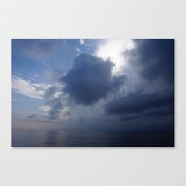 Boat to Gili T Canvas Print
