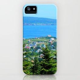 Bonaventure Island panoramic iPhone Case