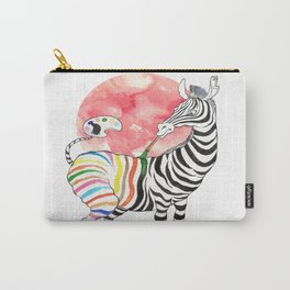 Dance of Zebra Carry-All Pouch