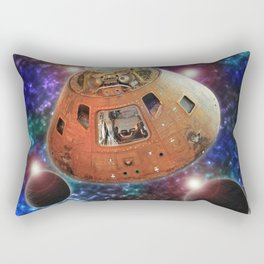 Apollo 12 Command Module Rectangular Pillow