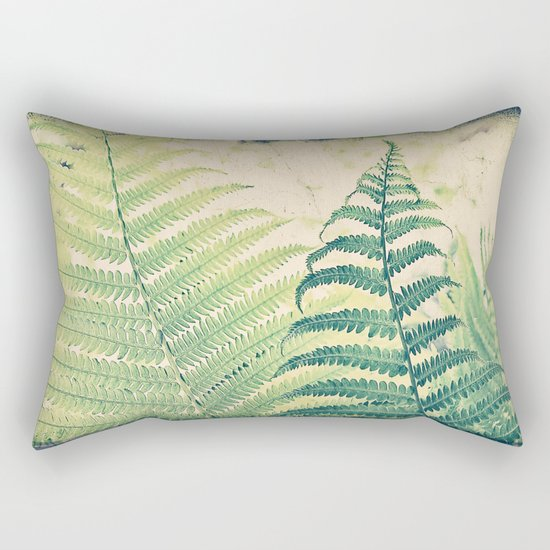 Shady Dancer Rectangular Pillow