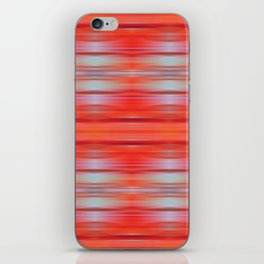 Red ikat iPhone Skin