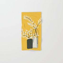 Abstract Vases Hand & Bath Towel