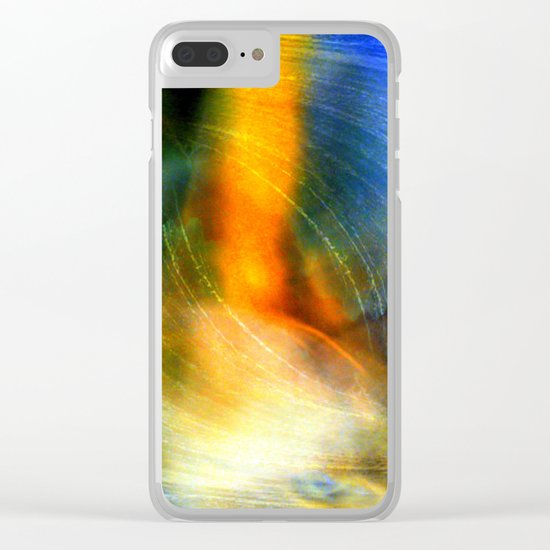 abstract ###### # Clear iPhone Case