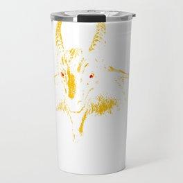Bathory Yellow Goat Pullover Sweatshirt Travel Mug