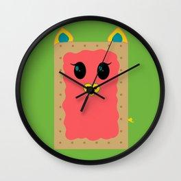 """Oink Tart"" - pig poptart - GREAT CHRISTMAS GIFT! Wall Clock"