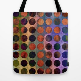 MELANGE of VIOLET and RUST Tote Bag