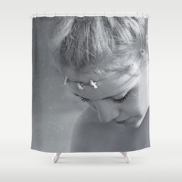 Girls fantasy reflection Shower Curtain