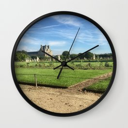 Paris, France - Tuileries Wall Clock
