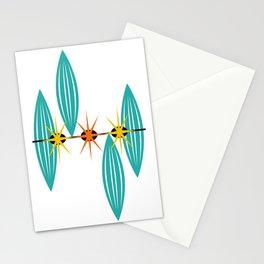 Mid-Century Modern Art 1.5 Stationery Cards