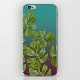 Monstera LEAFS iPhone Skin