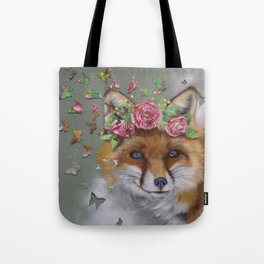 The Butterfly Effect Fox Tote Bag