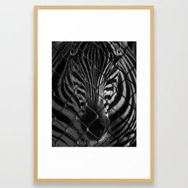 Bars and Stripes Framed Art Print