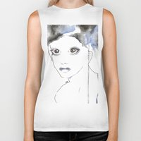 depression Biker Tanks featuring Depression I by katimarco