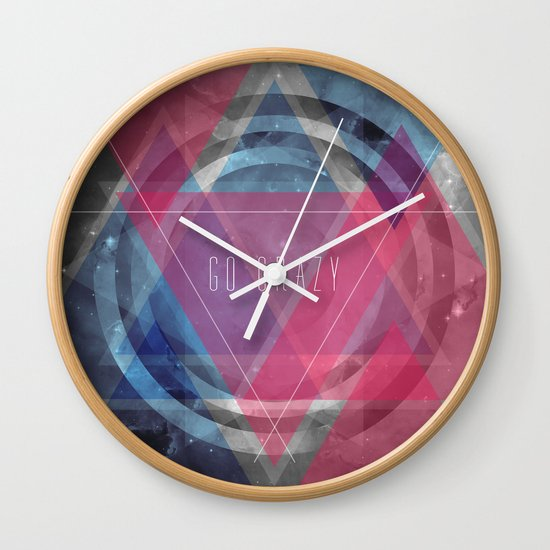 Craziness... let's go there. Wall Clock
