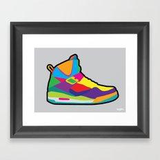 Jordan 45 high Framed Art Print