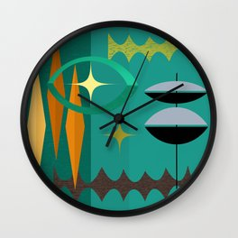 Watching From The High Tower Wall Clock