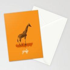 4-legged Exotica Series: Giraffe Stationery Cards