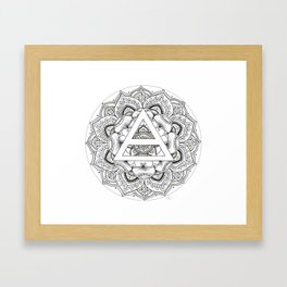 Precious Triad Framed Art Print