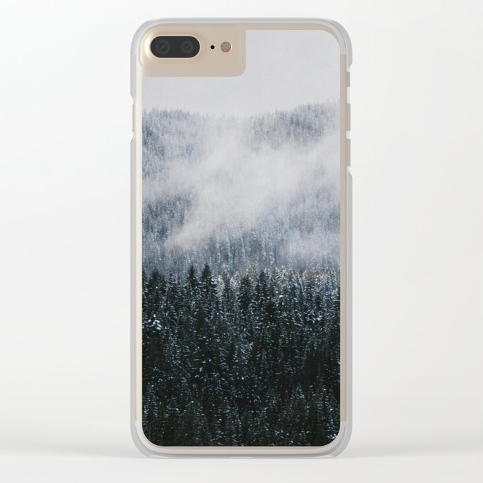 Winter V Clear iPhone Case