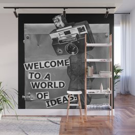 World of Ideas Wall Mural