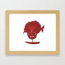 As long as the boat goes, let it go Framed Art Print
