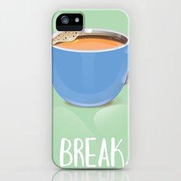 Tea Break iPhone Case