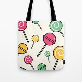 Lolli-lollipop Tote Bag