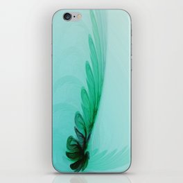 With Brave Wings She Flies iPhone Skin