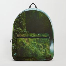 The Valley's Waterfall (Color) Backpack