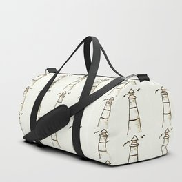 Lighthouse Pattern Duffle Bag