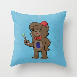 11th Doctor Throw Pillow
