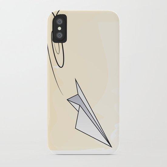 Paperplane iPhone Case