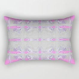 Soft Watercolor Pattern Rectangular Pillow