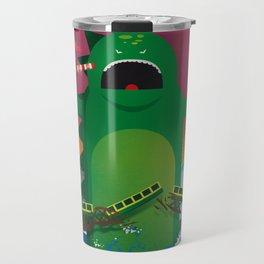 Godzilla in Dublin Travel Mug