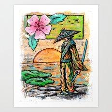 Days of Bushido Art Print