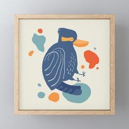 Quirky Laughing Kookaburra Framed Mini Art Print