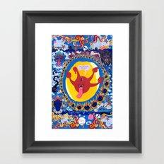 Irrevence Mandala Framed Art Print