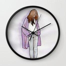 Cozy Cardigan Wall Clock